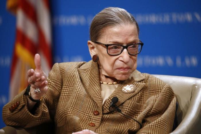 U.S. Supreme Court Associate Justice Ruth Bader Ginsbur