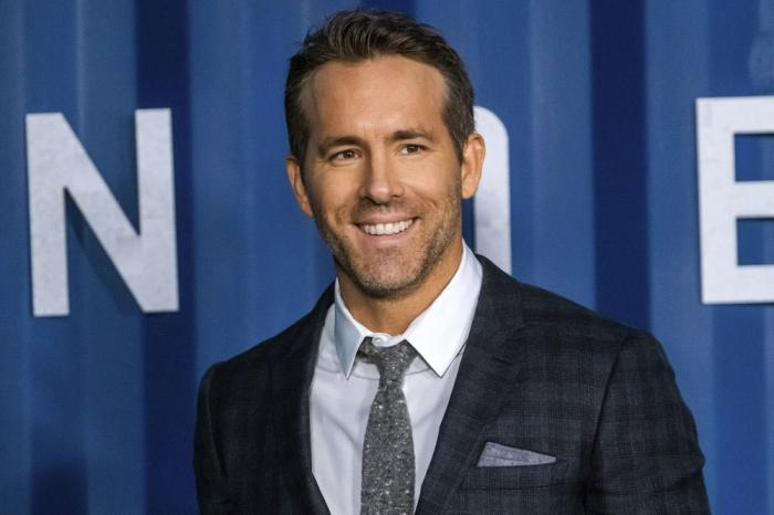 """In this Tuesday, Dec. 10, 2019 file photo, Ryan Reynolds attends the premiere of Netflix's """"6 Underground"""" at The Shed at Hudson Yards on in New York."""