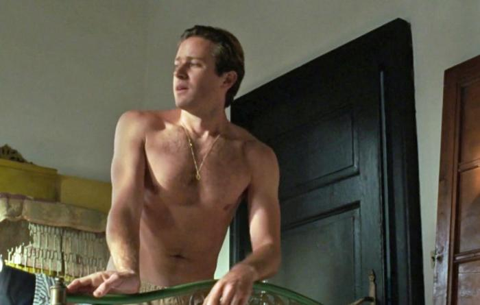 "Armie Hammer in ""Call Me By Your Name"""
